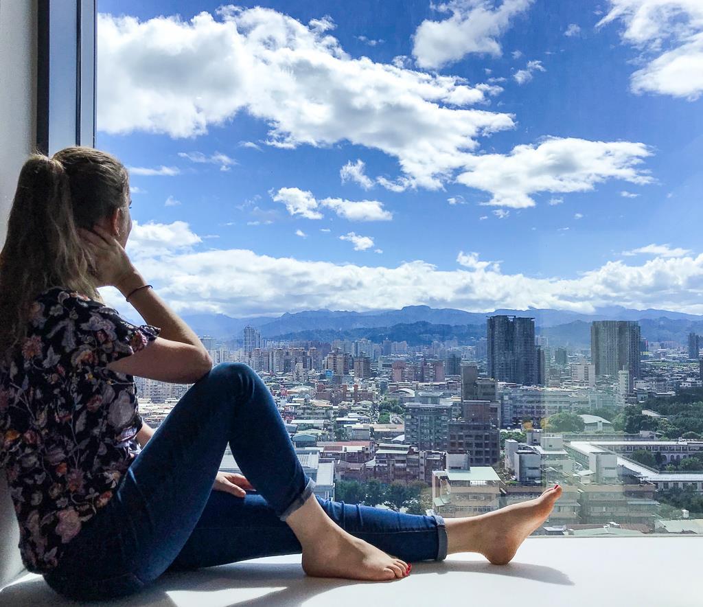 Top 10 des choses à faire à Taipei et ses alentours : vue de l'hôtel Ceasar Metro Hotel Taipei