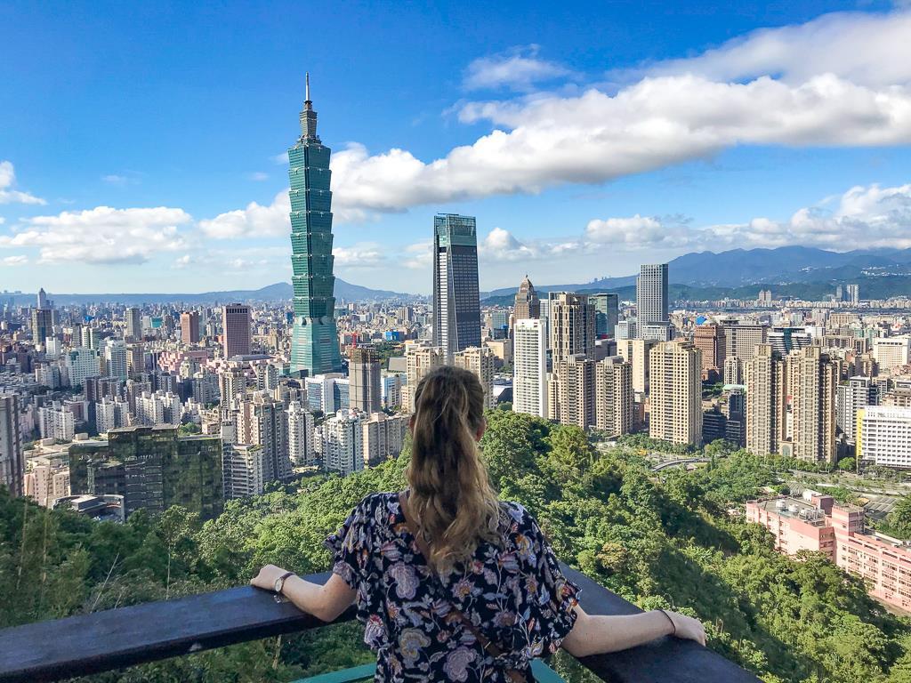 Top 10 des choses à faire à Taipei et ses alentours : vue de l'Elephant mountain