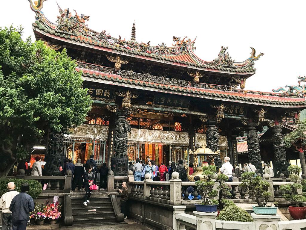 """Top 10 des choses à faire à Taipei et ses alentours : """"Longshan Temple"""""""