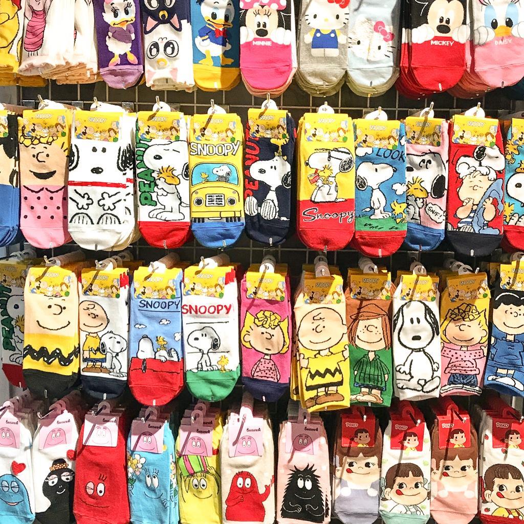 Top 10 des choses à faire à Taipei et ses alentours : chaussettes rigolottes