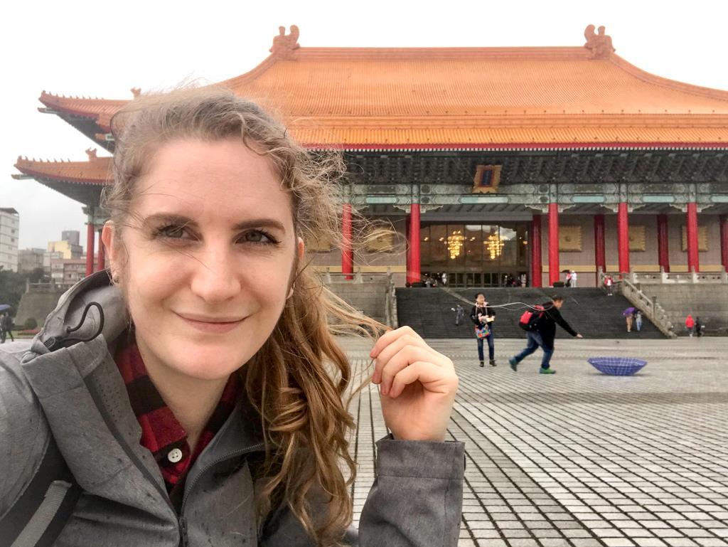 Top 10 des choses à faire à Taipei et ses alentours : selfie raté devant le Chiang Kai-shek Memorial Hall