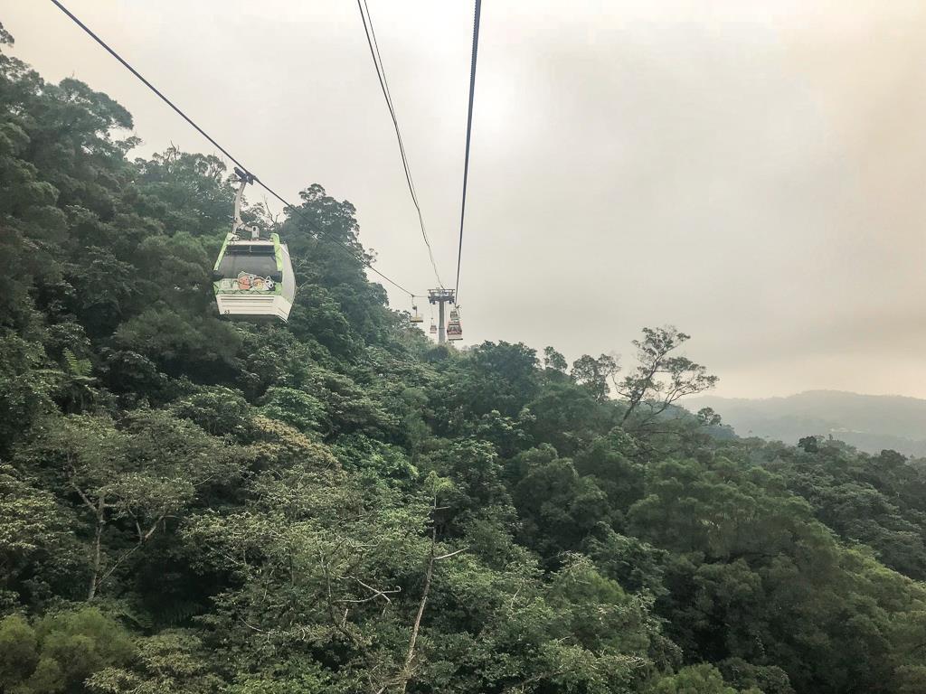 Top 10 des choses à faire à Taipei et ses alentours : téléphérique de Maokong