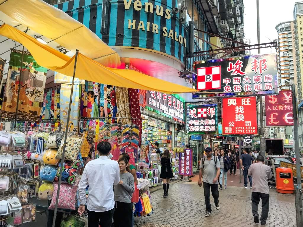 4 jours à Hong-Kong : balade dans les rues de Hong-Kong