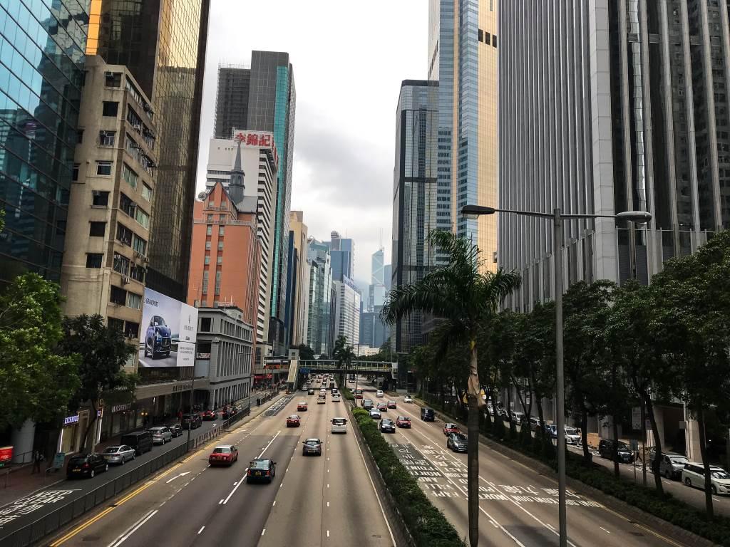 4 jours à Hong-Kong : vue sur les buildings