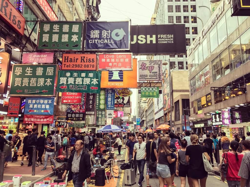 4 jours à Hong-Kong : balade à Mong kok