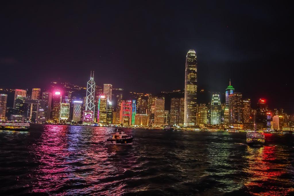 4 jours à Hong-Kong : vue sur la skyline depuis le Star Ferry