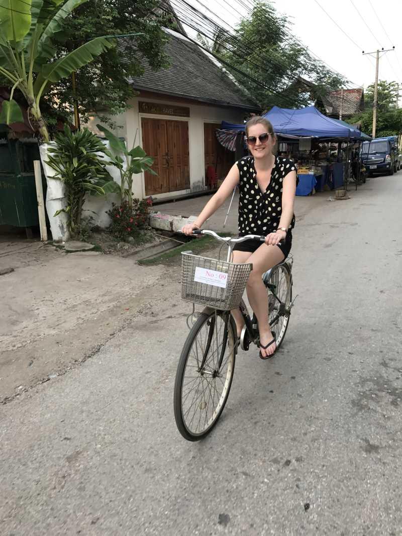 Top 10 des activités à faire à Luang Prabang : vélo dans la ville