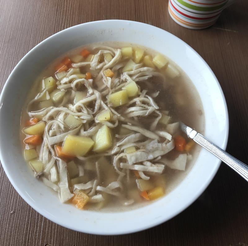 Carnet de voyage en Mongolie : soupe de nouilles