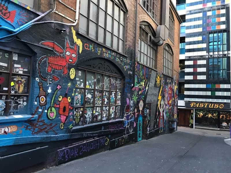 Top 8 des choses à faire autour de Melbourne : street art à Melbourne
