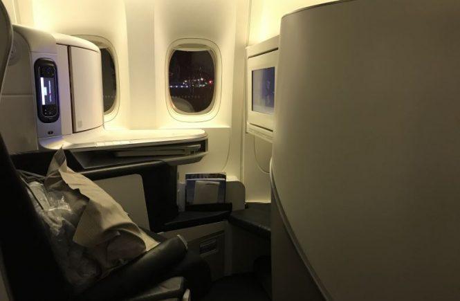 Les sièges en Business Class chez Air France