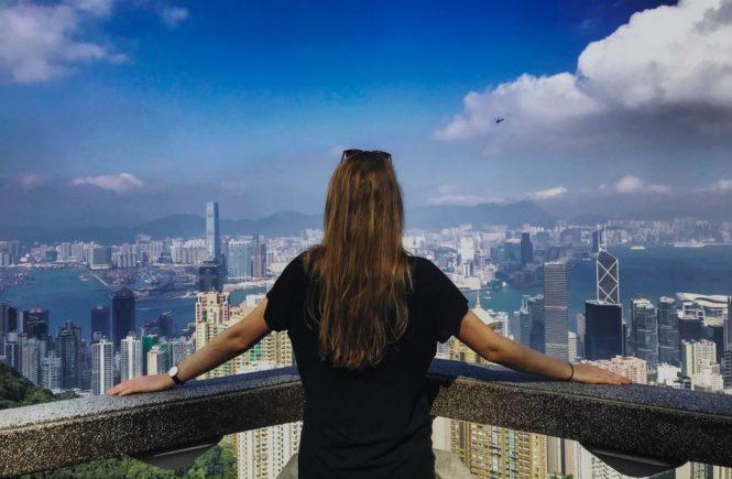 4 jours à Hong-Kong : Vue du Victoria Peak